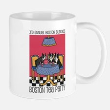 Boston Buddies Boston Tea Par Small Mugs