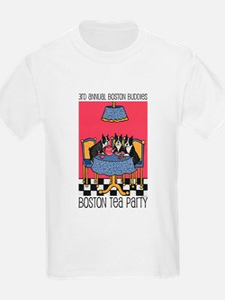 Boston Buddies Boston Tea Par T-Shirt