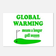 GOLFING Postcards (Package of 8)