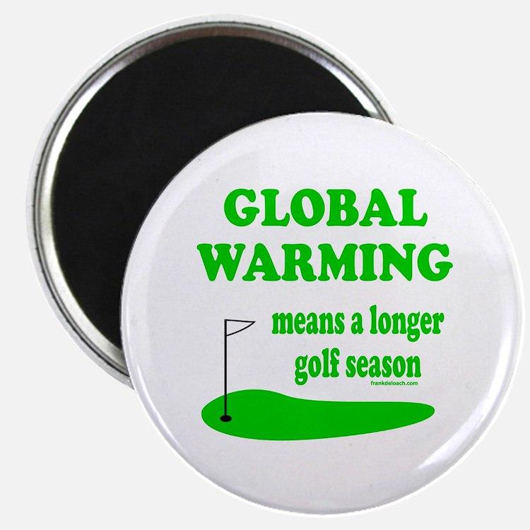 """GOLFING 2.25"""" Magnet (100 pack)"""