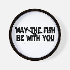 Fish Force Wall Clock