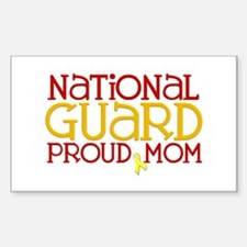 NG Proud Mom Rectangle Decal