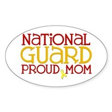 NG Proud Mom Oval Decal