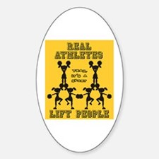 Cheer - Athletes Oval Decal