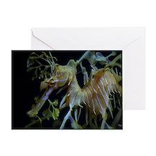 Sea Dragons by Karen Greeting Card