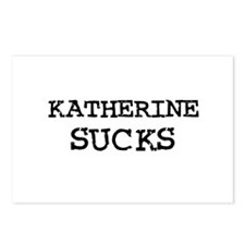 Katherine Sucks Postcards (Package of 8)