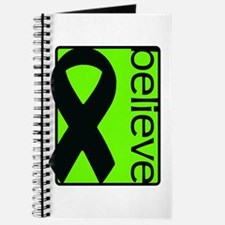 Lime Green (Believe) Ribbon Journal