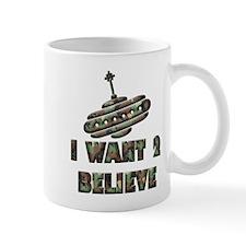 I Want 2 Believe UFO 26 Mug