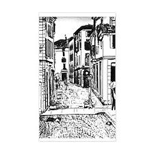 Trento Italy Rectangle Decal