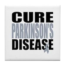 Cure Parkinson's Disease Tile Coaster