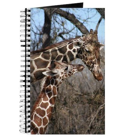 Giraffe Mom and Kid Journal
