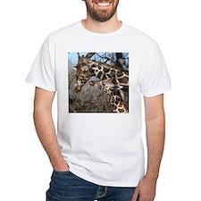 Giraffe Mom and Kid Shirt