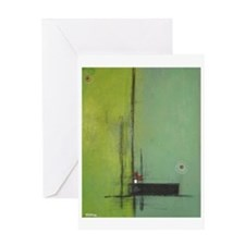 Integrity Abstract Greeting Card
