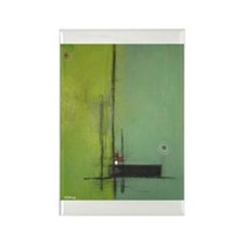 Integrity Abstract Rectangle Magnet