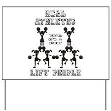 Athletes - Cheer Yard Sign