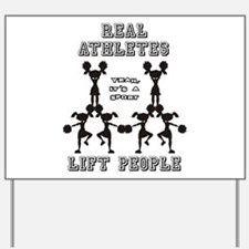Athletes - Cheer Yard Sign