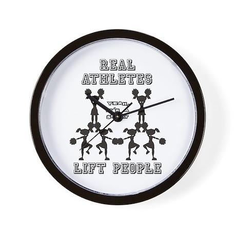 Athletes - Cheer Wall Clock