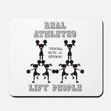 Athletes - Cheer Mousepad