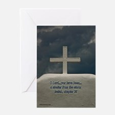 Cross in the Storm Greeting Card