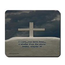 Cross in the Storm Mousepad