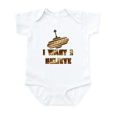 I Want 2 Believe UFO 19 Infant Bodysuit