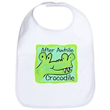 After Awhile Crocodile Bib