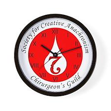 SCA Chirurgeon's Guild Wall Clock