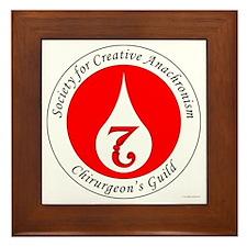 SCA Chirurgeon's Guild Framed Tile