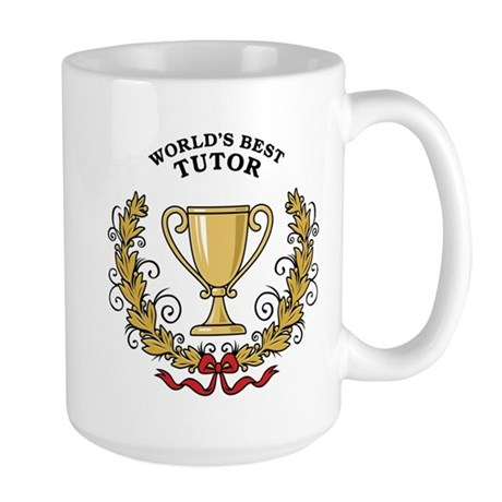 World's Best Tutor Large Mug