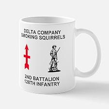 128th Infantry <BR>D Co. 11 Ounce Mug 1