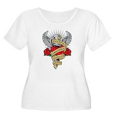 Parkinson's Heart & Dagger T-Shirt