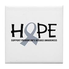 Breast Cancer Hope Tile Coaster