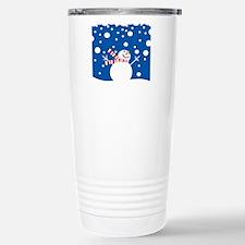 Holiday Snowman Travel Mug