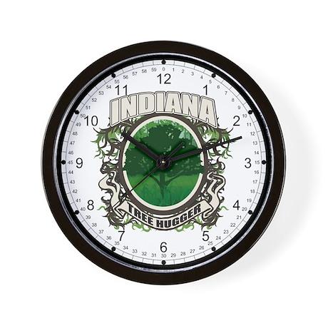 Tree Hugger Indiana Wall Clock