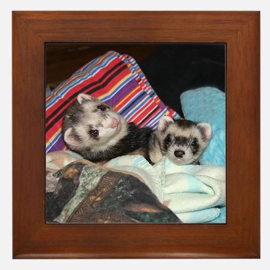 Billy & Benny Framed Tile