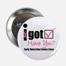 """Breast Cancer Detection 2.25"""" Button"""