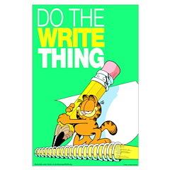 Garfield Writing Posters