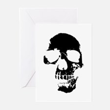 Vintage Skull #1 Gifts Greeting Cards (Pk of 10)