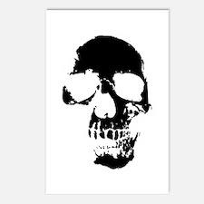 Vintage Skull #1 Gifts Postcards (Package of 8)