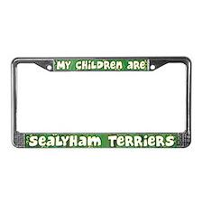 My Children Sealyham Terrier License Plate Frame