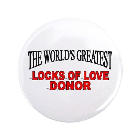 """The World's Greatest Locks of Love Donor"" 3.5"" Bu"