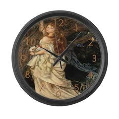 Ophelia Large Wall Clock