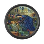 The Prioress Large Wall Clock
