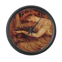 Sea Spell Large Wall Clock
