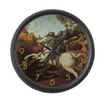 St. George & The Dragon Large Wall Clock