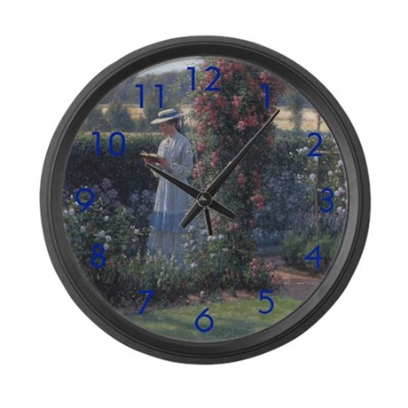 Sweet Solitude Large Wall Clock