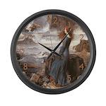 Miranda & The Tempest Large Wall Clock