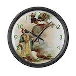 Arabian Nights Large Wall Clock