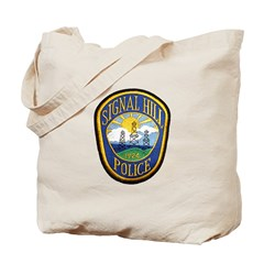 Signal Hill Police Tote Bag