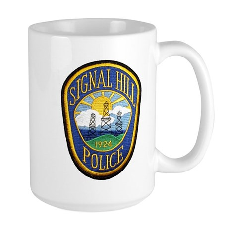 Signal Hill Police Large Mug